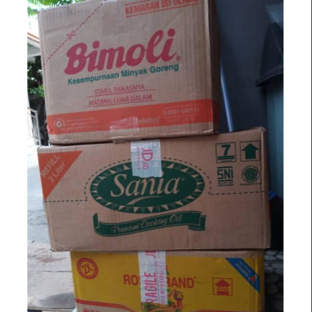 Minyak Goreng Sania, Rosebrand, Bimoli 2