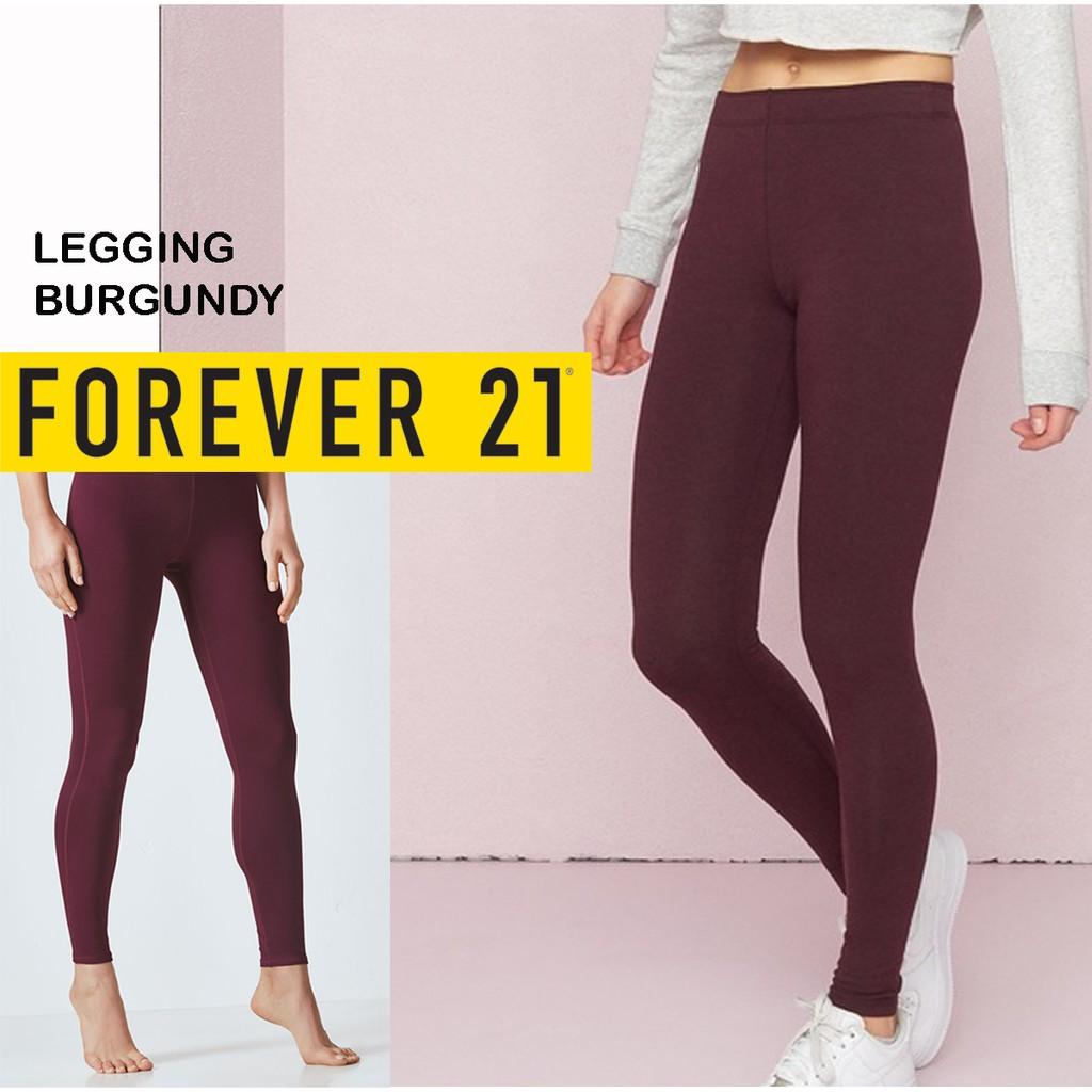 Size L Legging Panjang F21 Forever 21 Shopee Indonesia