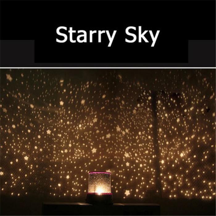 Romantic Astro Planetarium Star Celestial Projector Cosmos Light Night Sky F3