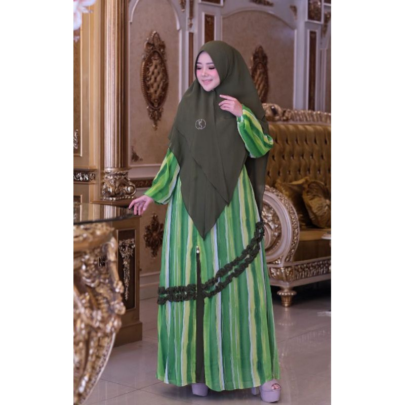 Dress Casella Ori by Yodizein Syar'i