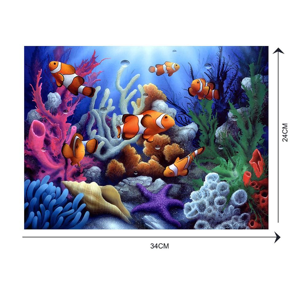 Lukisan Diamond 5D DIY Gambar Dunia Bawah Laut Untuk Dekorasi Rumah