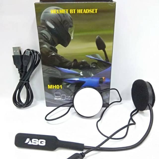 ... Pita Penahan Keringat Headset Headphone Nirkabel Speaker Latihan Putih Abu-abu. 39.000 · New earphone bluetooth buat di helm music mh-01