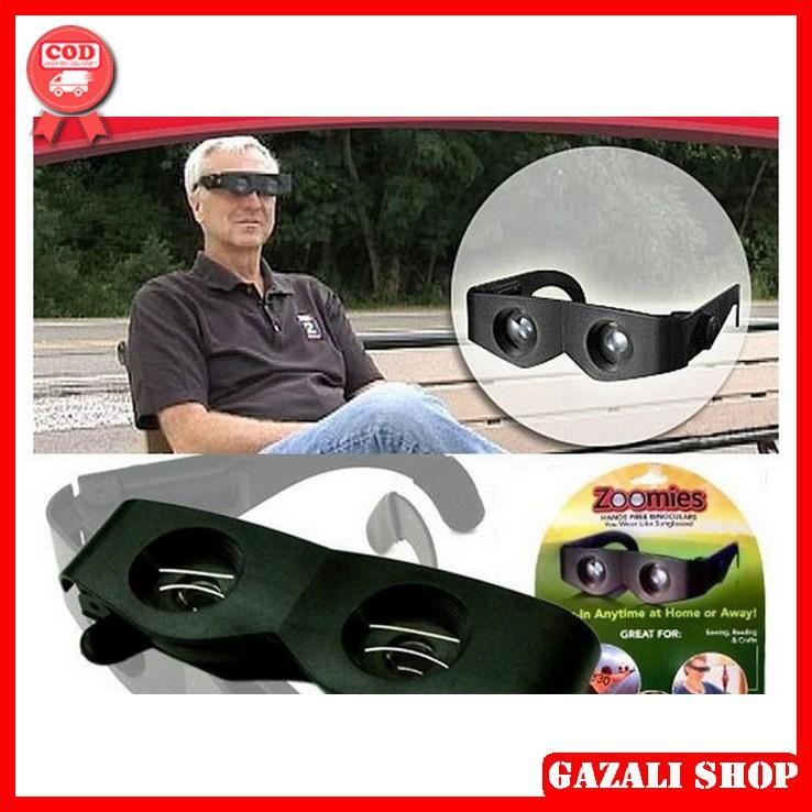 Kacamata Pembesar Dengan Teknologi Teropong Sampai Zoom 400 Zoomies Hands Free Binoculars Shopee Indonesia