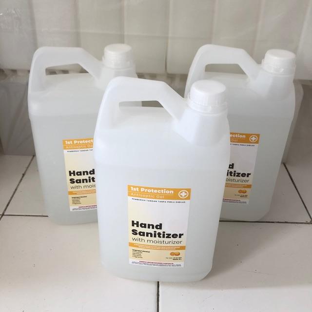 Hand sanitizer gel 5 liter / Hand sanitizer gel jeruk