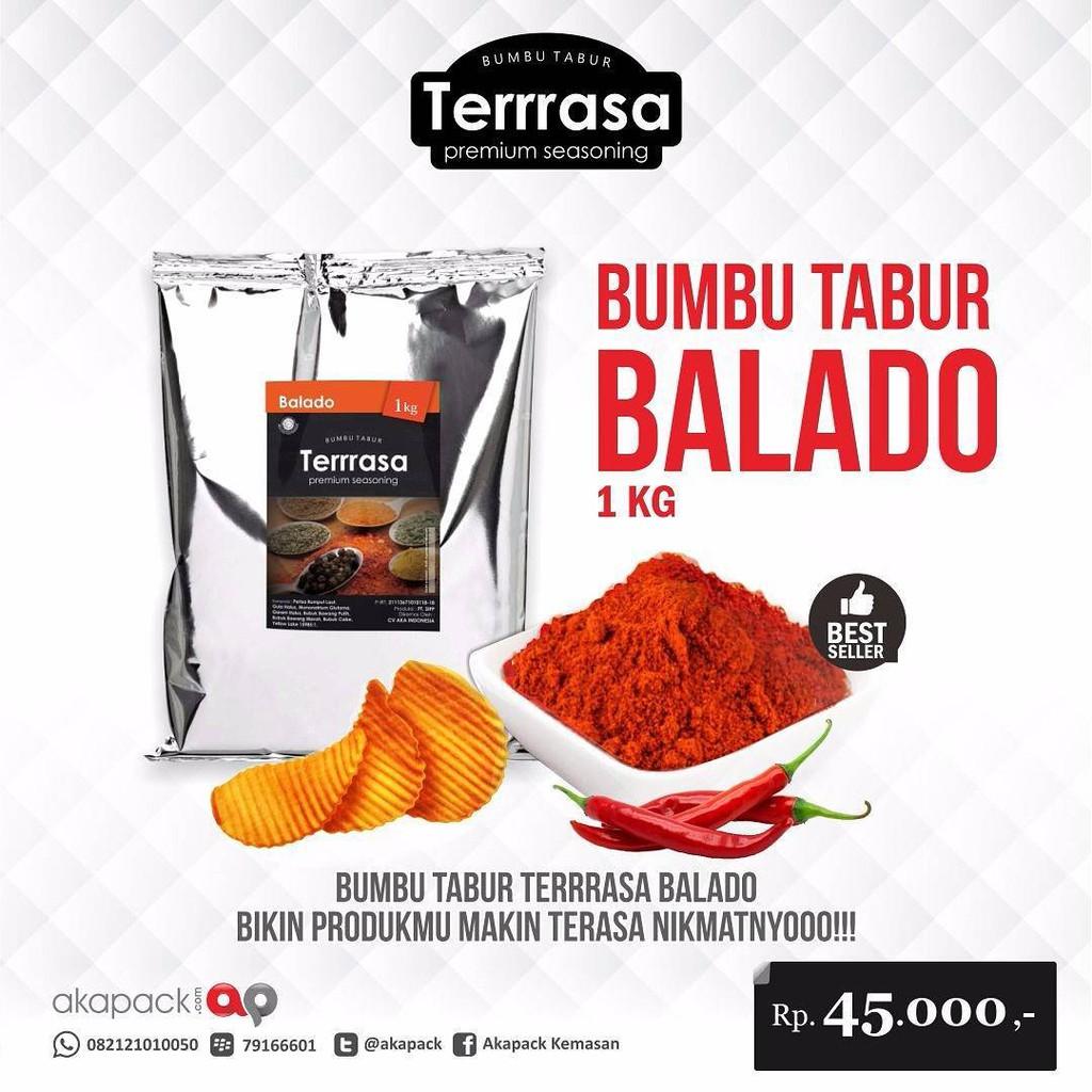 Aneka Bumbu Tabur 1kg Perasa Keripik Berbagai Rasa (Balado, Cabe Daun Jeruk, Coklat, Rendang) | Shopee Indonesia