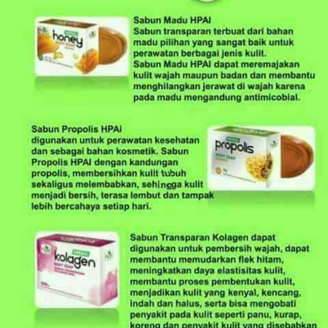 Pasta gigi herbal hpai | Shopee Indonesia -. Source · Sabun Propolis Transparan Menghaluskan .