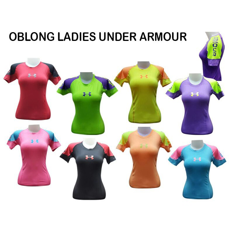 Baju Gym Fitness Senam Yoga Wanita Import Under Armour - Kombinasi ... 63c1aa5760