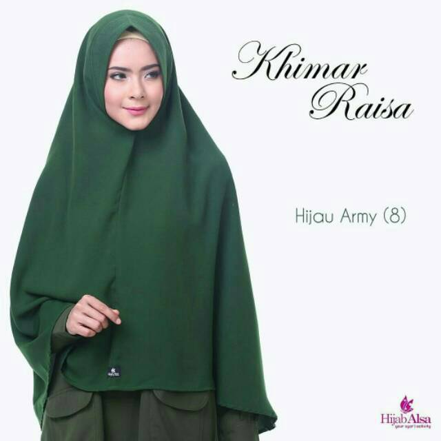 Hijab Hijau Army 7