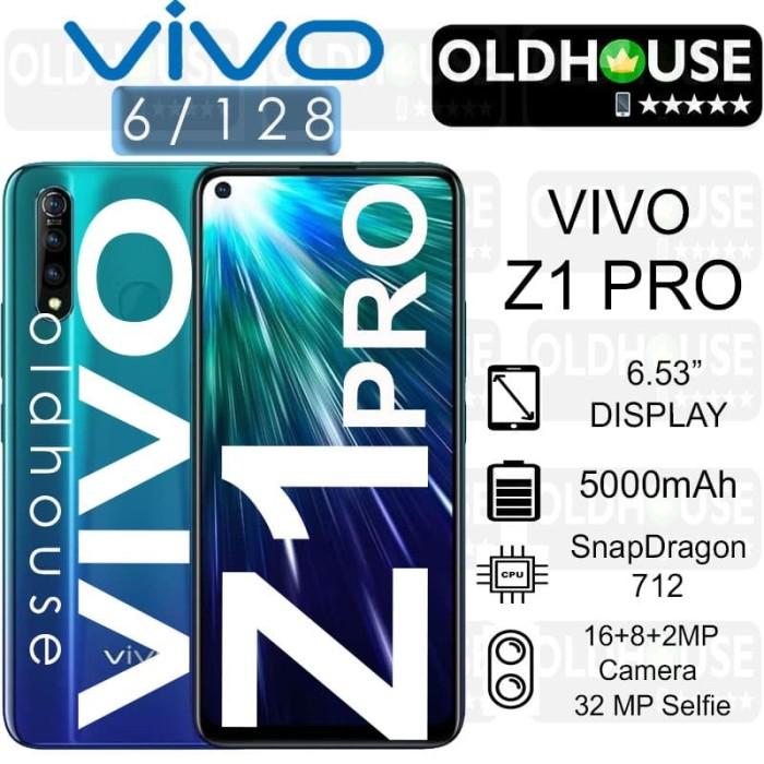 VIVO Z1Pro Z1 Pro 6/128 Ram 6gb Rom 128gb Garansi Resmi INDONESIA - Hitam
