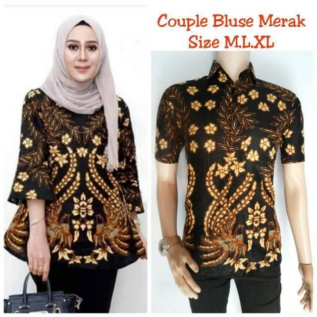 Couple batik/baju batik wanita/baju batik wanita/termurah ...
