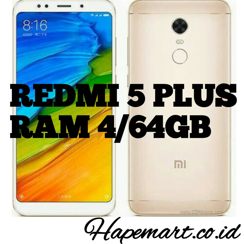 Xiaomi Redmi 5 Plus 32 Gb 3 Ram Garansi Resmi Tam 1 Tahun Biru Distributor Shopee Indonesia