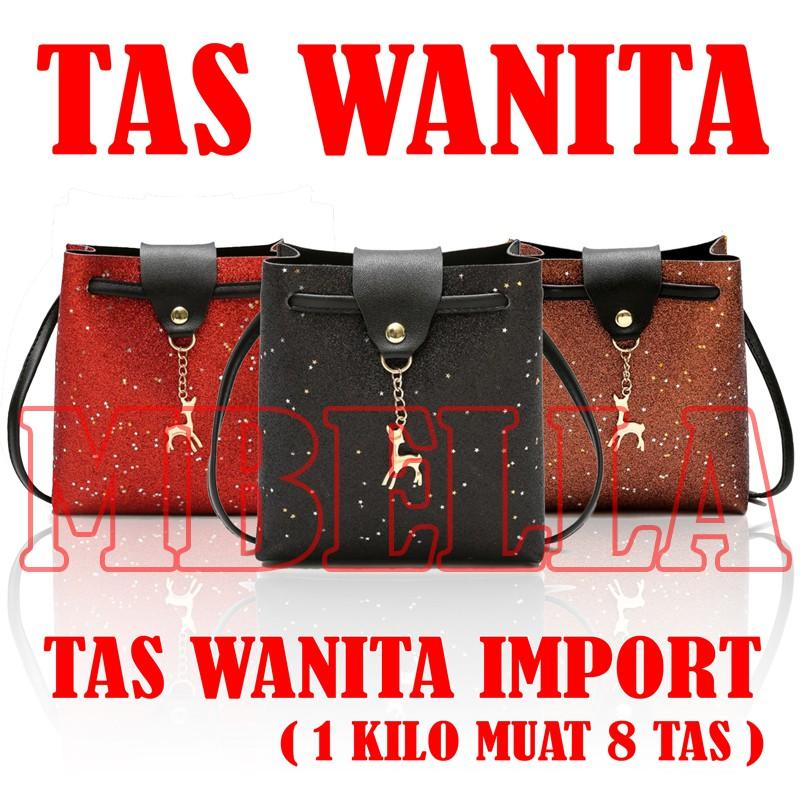 MBELLASHOP - 7867 - TAS BATAM - TAS IMPORT - TAS MANIKMANIK - TAS SELEMPANG WANITA - TAS MINI-POUCH] | Shopee Indonesia