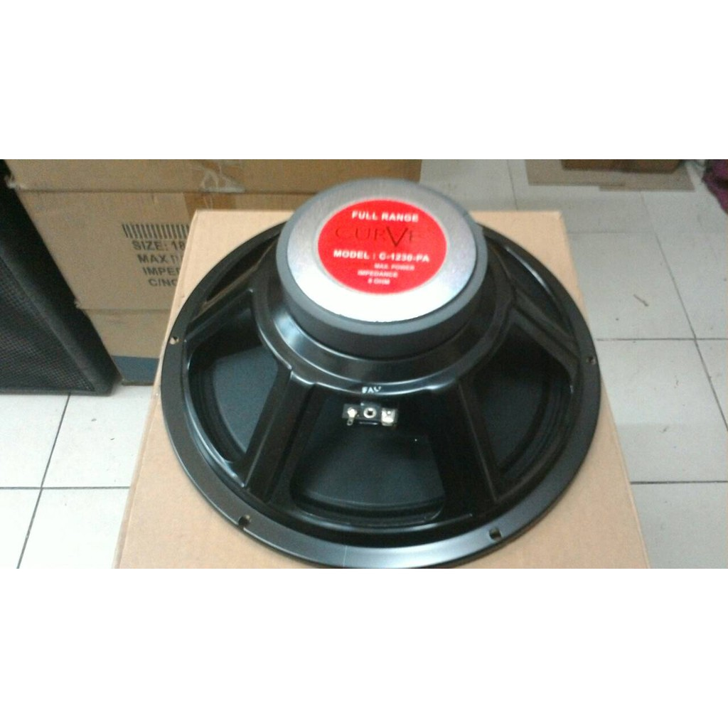 Speaker 12 Inch Curve Full Range C 1230 Pa Acr 1240 Classic Klasik Clasic Shopee Indonesia