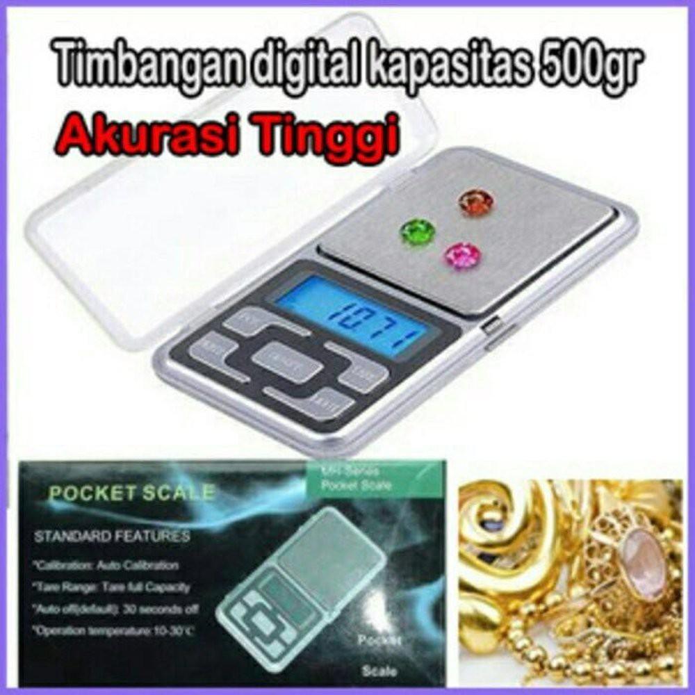 Timbangan Digital Emas Permata Batu Akik Berat 600 Gram Akurasi 001 Gantung Mh 999 Pocket Scale Shopee Indonesia