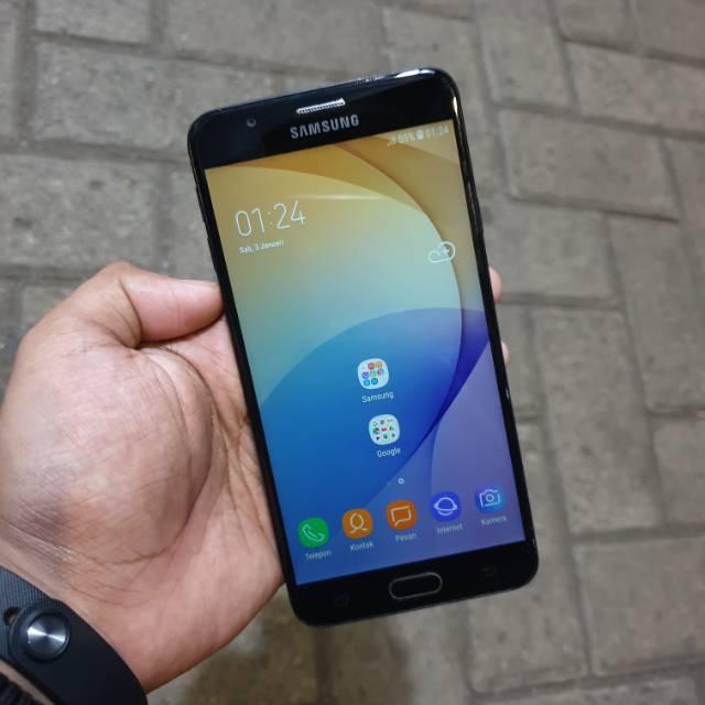 Handphone Hp Samsung J7 Prime 3/32 Second Seken Bekas Murah