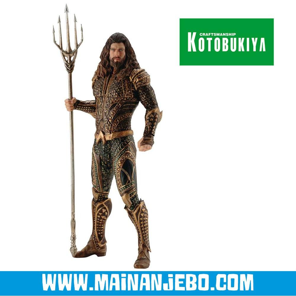 Kotobukiya DC COMICS JUSTICE LEAGUE MOVIE Aquaman ArtFX Statue