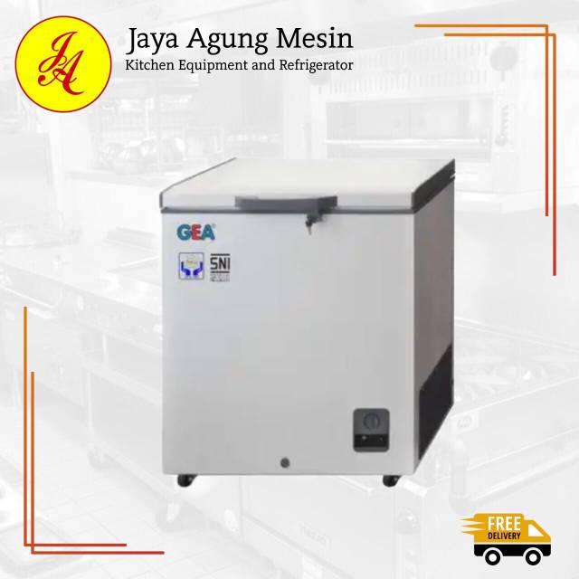 CHEST FREEZER AB 106-R/Freezer Beku Gea AB-106 /FREEZER BOX 100liter