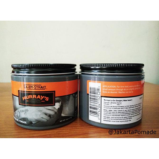 Murray s La Em Straight Firm Hold Gel Pomade Original USA 100 | Shopee Indonesia