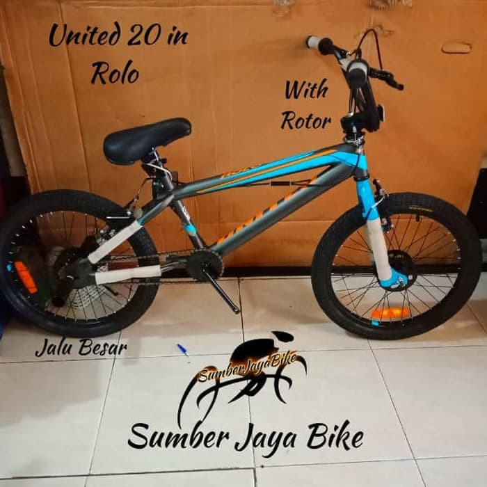 Sepeda BMX 20 inch United Rolo ROTOR NEW !!!