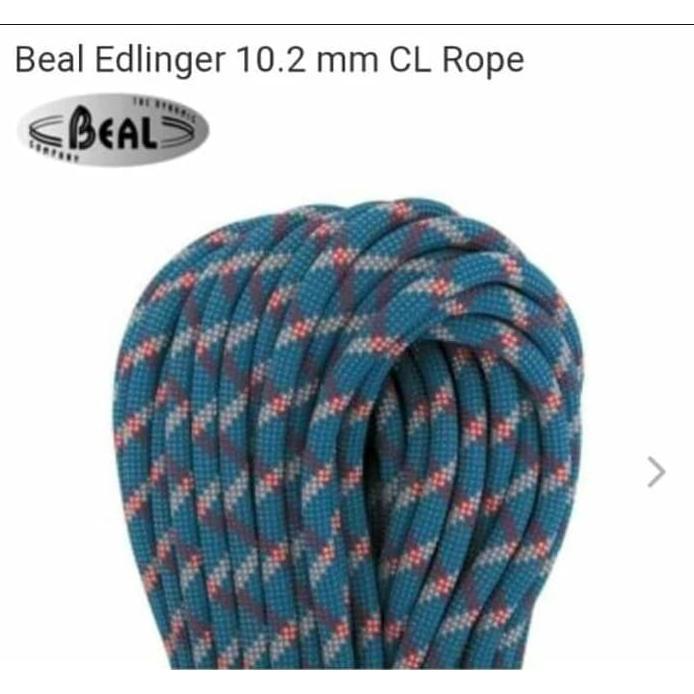 New Tali Karmantel Beal Dinamis Rope Edlinger 10 2mm X 50mtr Biru Shopee Indonesia