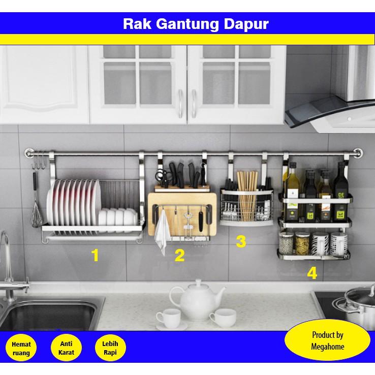 Rak Gantung Di Dapur | Desainrumahid.com