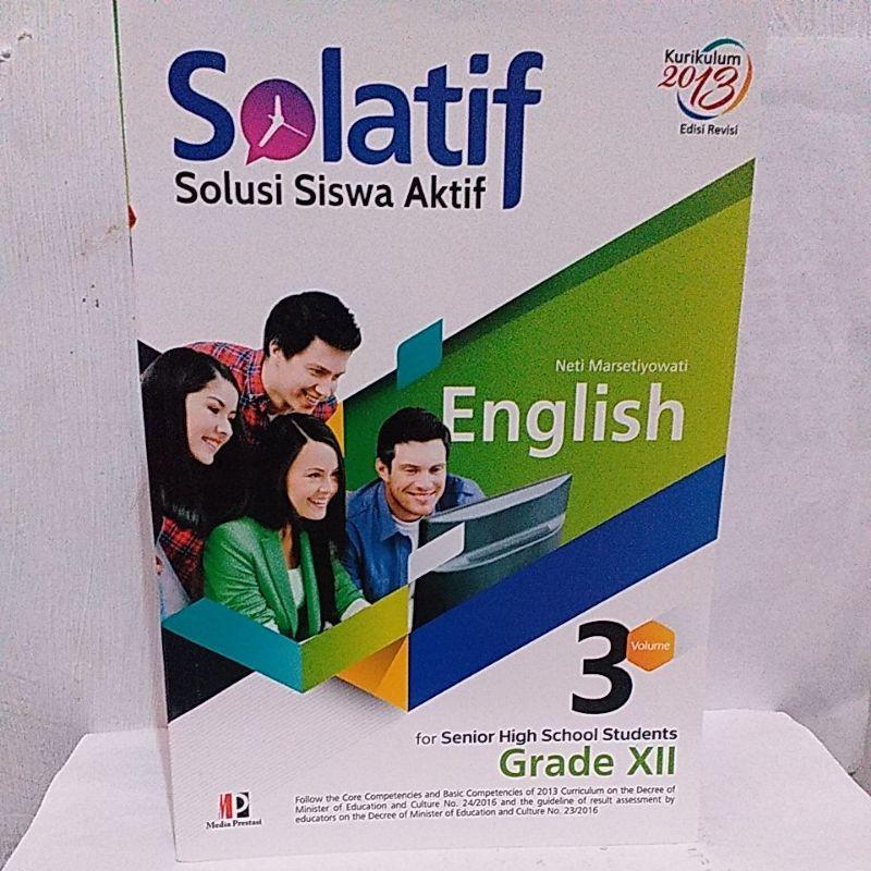 Buku Solatif Bahasa Inggris Sma Ma Kelas Xii Mas Media Shopee Indonesia