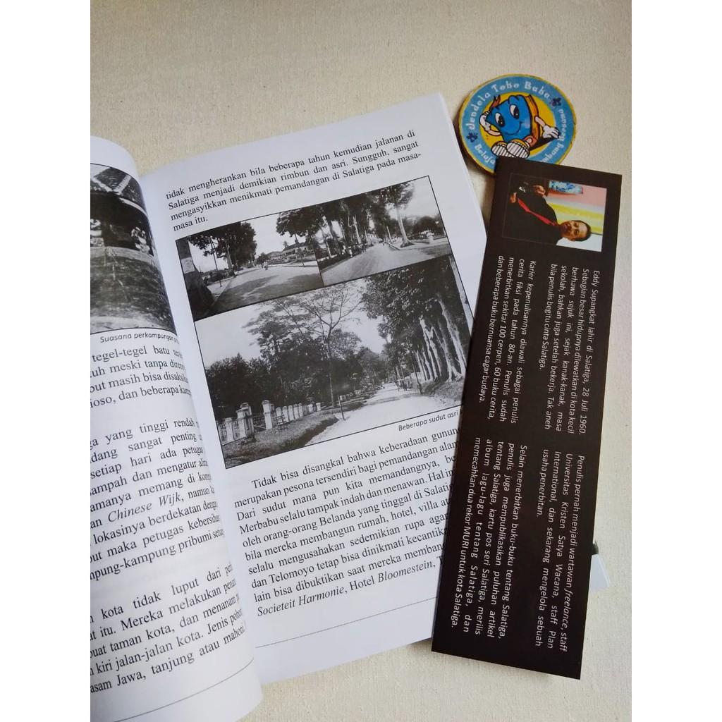 BUKU SALATIGA Sketsa Kota Lama SEJARAH SALATIGA Griya Media