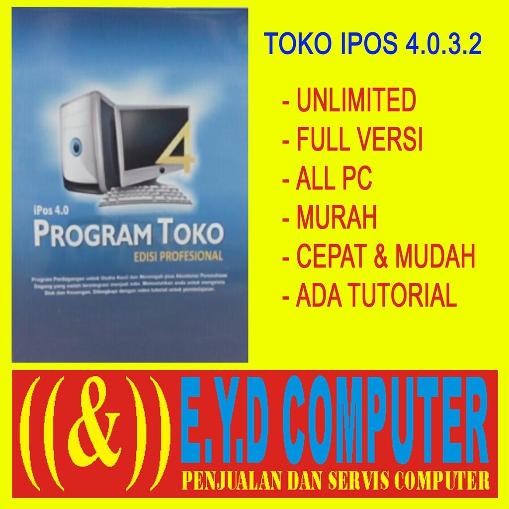 PROGRAM KASIR TOKO IPOS 4 SOFTWARE ALL PC APLIKASI FULL UNLIMITED AKTIVASI