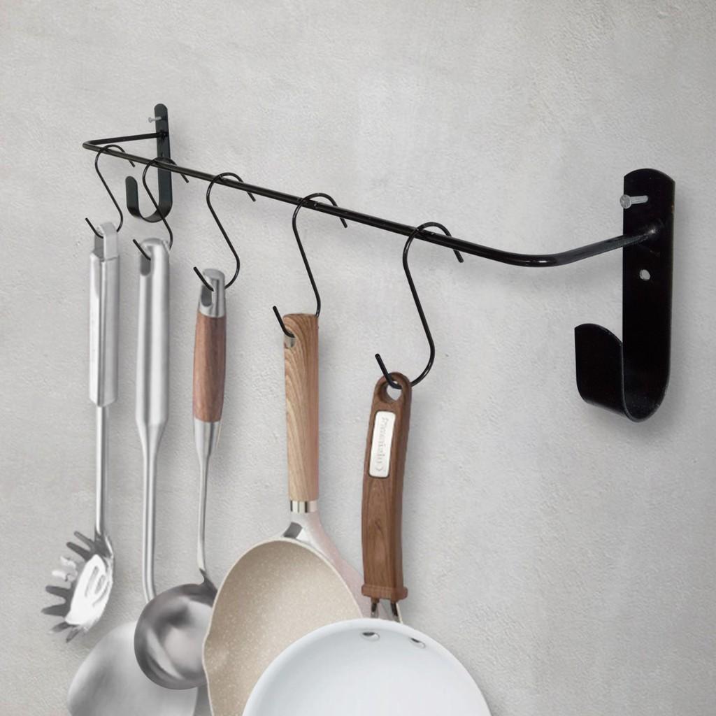 GUNINCO Gantungan Dapur Alat Masak Rel Dinding Kitchen Bar Rak Serbaguna