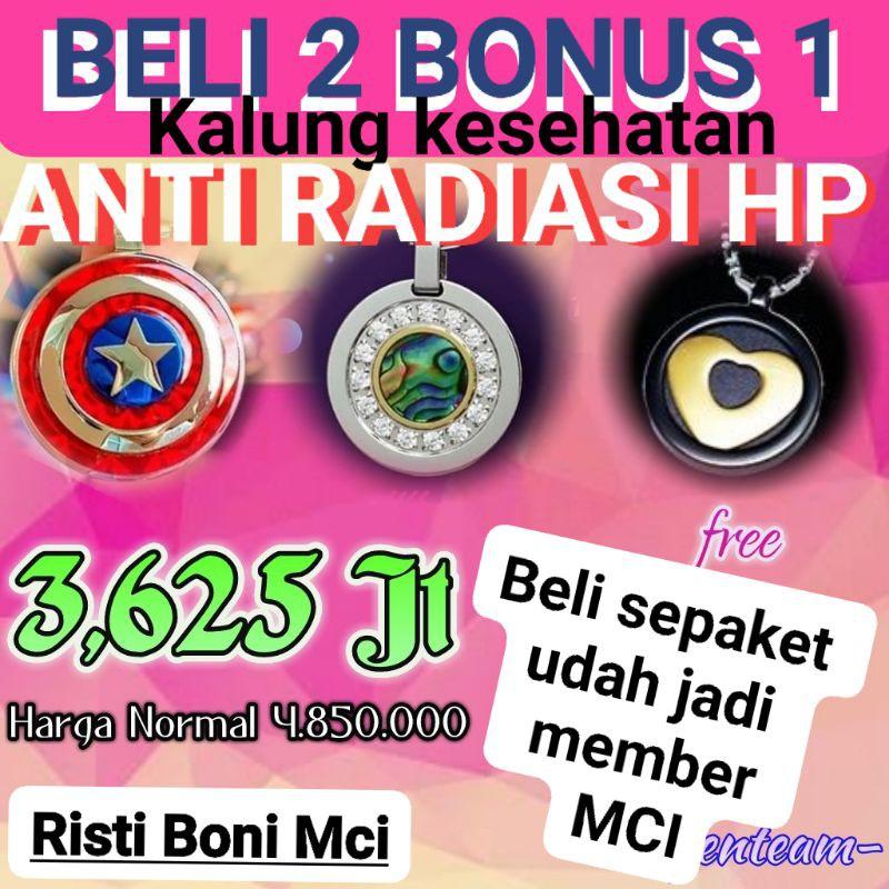 Promo Kalung MCI _ Kalung MCI _Promo Paket Hemat MCI_ Kalung Kesehatan Terbaru _ Kalung MCI Original
