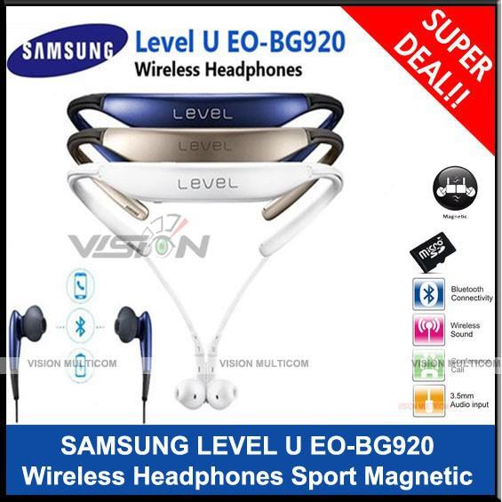 Turun Harga Headset Samsung Level U Pro Eo Bg920 Wireless Magnetic Oem Premium Berkualitas Shopee Indonesia