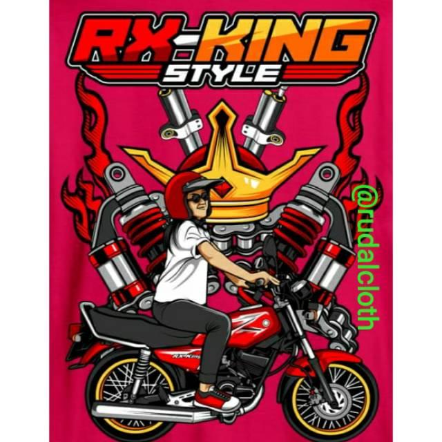 Kaos King Kingers Rx King Kaos Rx King Cod Shopee Indonesia
