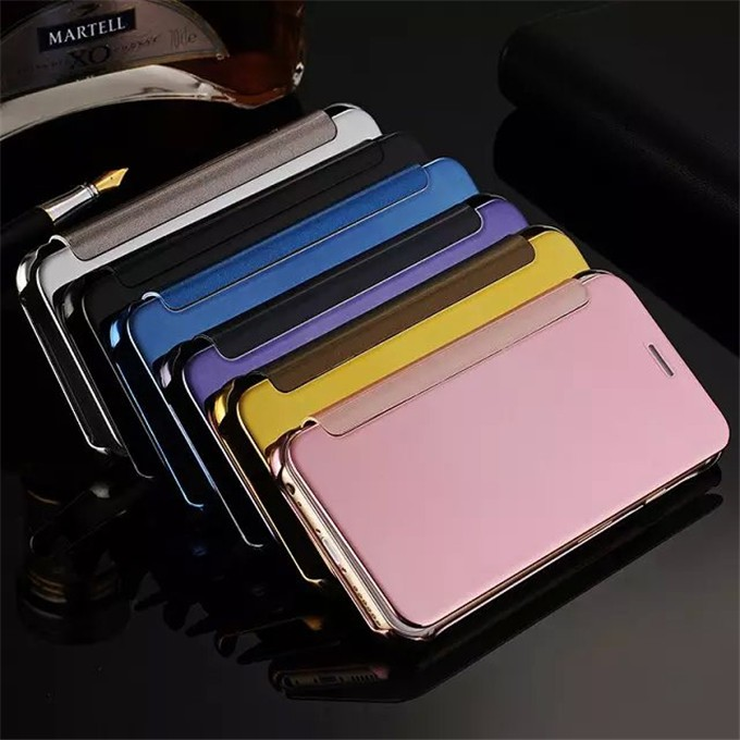 Samsung J7 Prime Flipcase Flip Mirror Flip Cover Leather Case Sarung Hp Softcase Casing Hp Flipcover | Shopee Indonesia