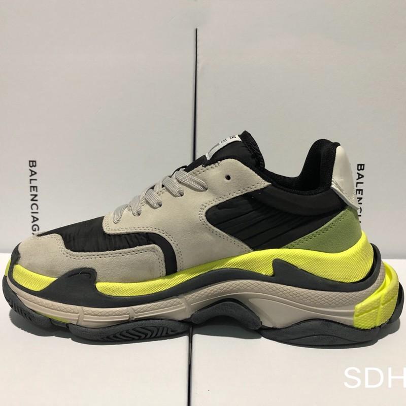 Balenciaga Triple S Grey Men s Fashion Footwear Sneakers