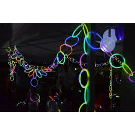 Glow stick / light stick /fosfor tongkat warna warni nyala in the dark stik gelang