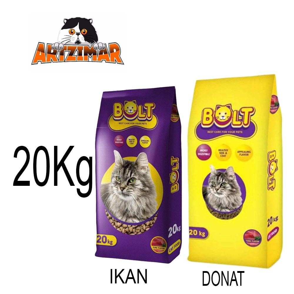 Khusus Ekspedisi Makanan Kucing Bolt 20kg Shopee Indonesia