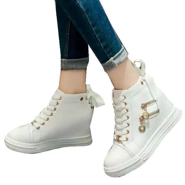 ... Sepatu wanita termurah BOOT RESLETING DOUBLE ...