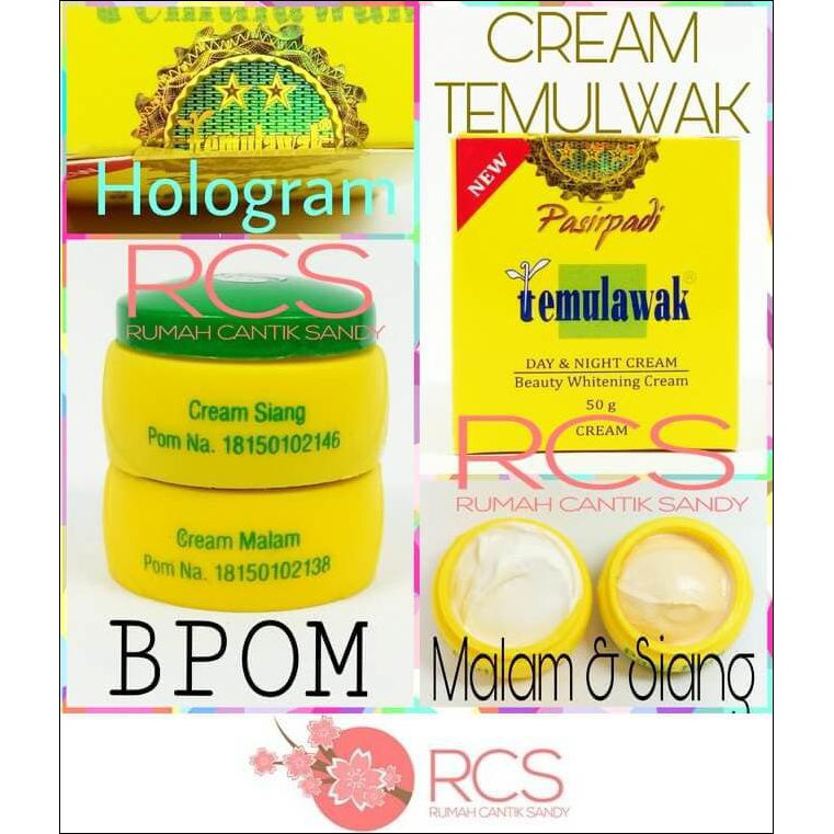 Cream Temulawak Malaysia 100 Original Blink Blink Siang Malam ... 5a4a7ded1d