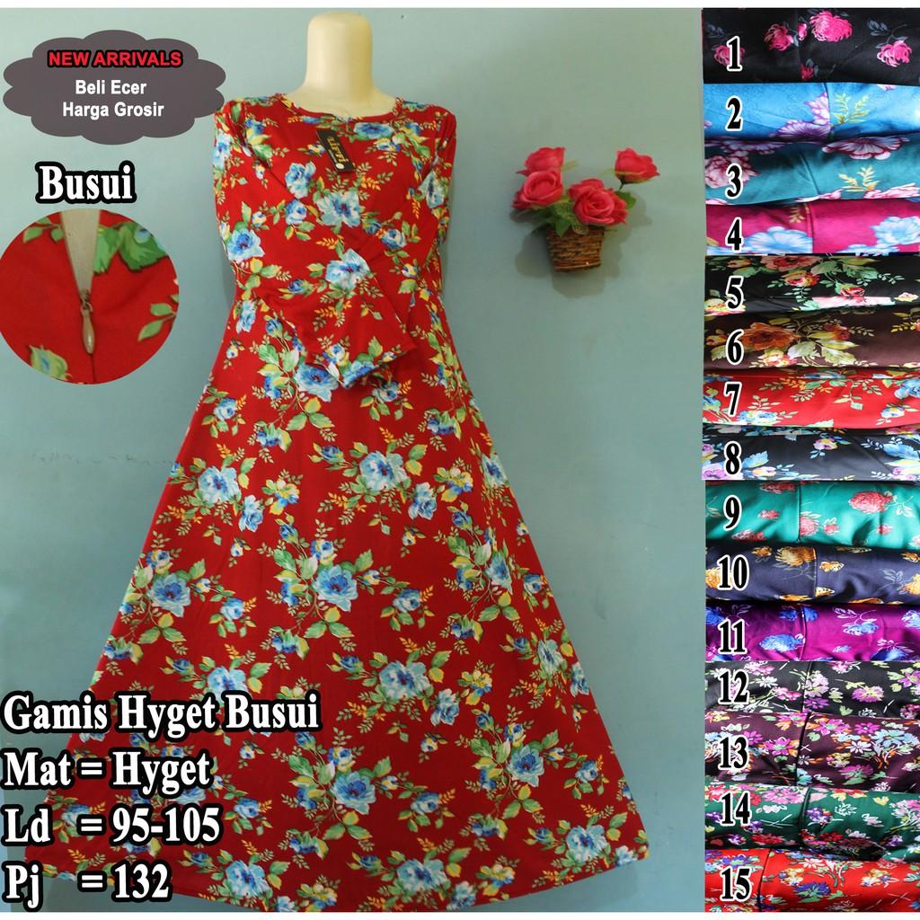 Gamis Murah Gamis Terlaris Gamis Hyget Long Dress Murah