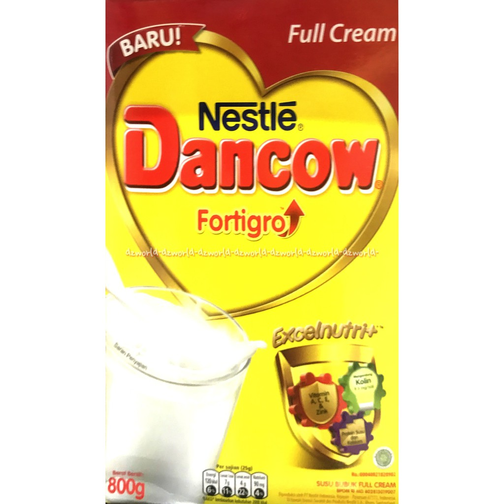 Jual Dancow Instant Enriched Fortigro Susu Plain Box 800g Limited Instan Coklat Shopee Indonesia
