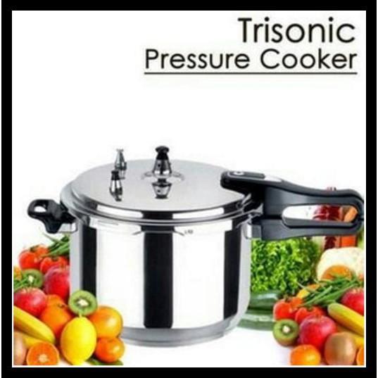 Paling Laku Trisonic/ Holmes Pressure Cooker T-324 - Panci Presto 8 Lite |