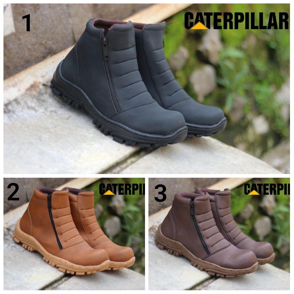 Sepatu Catterpillarr Elastico Men Boots Work & Safety Sepatu Pria Klasik Boots Murah Best Quality | Shopee Indonesia