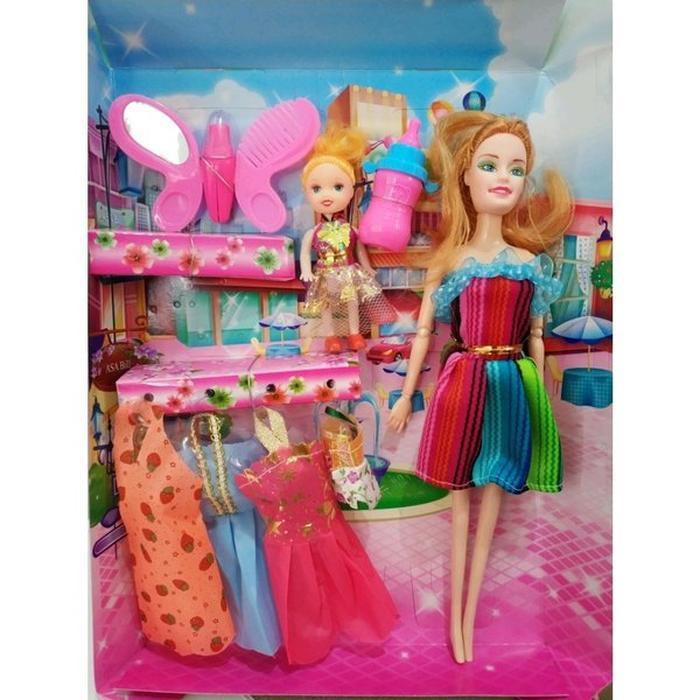 Mainan Boneka Barbie Set Shopee Indonesia