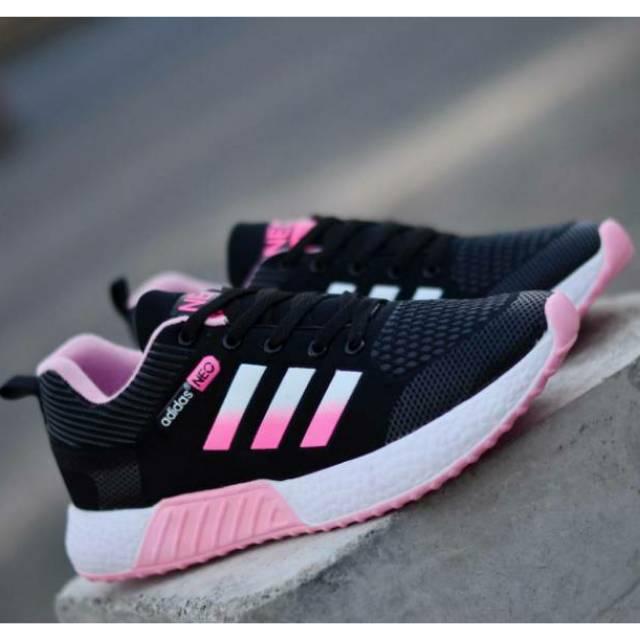 Bisa Cod Sepatu Senam Wanita Sepatu Adidas Sepatu Olahraga