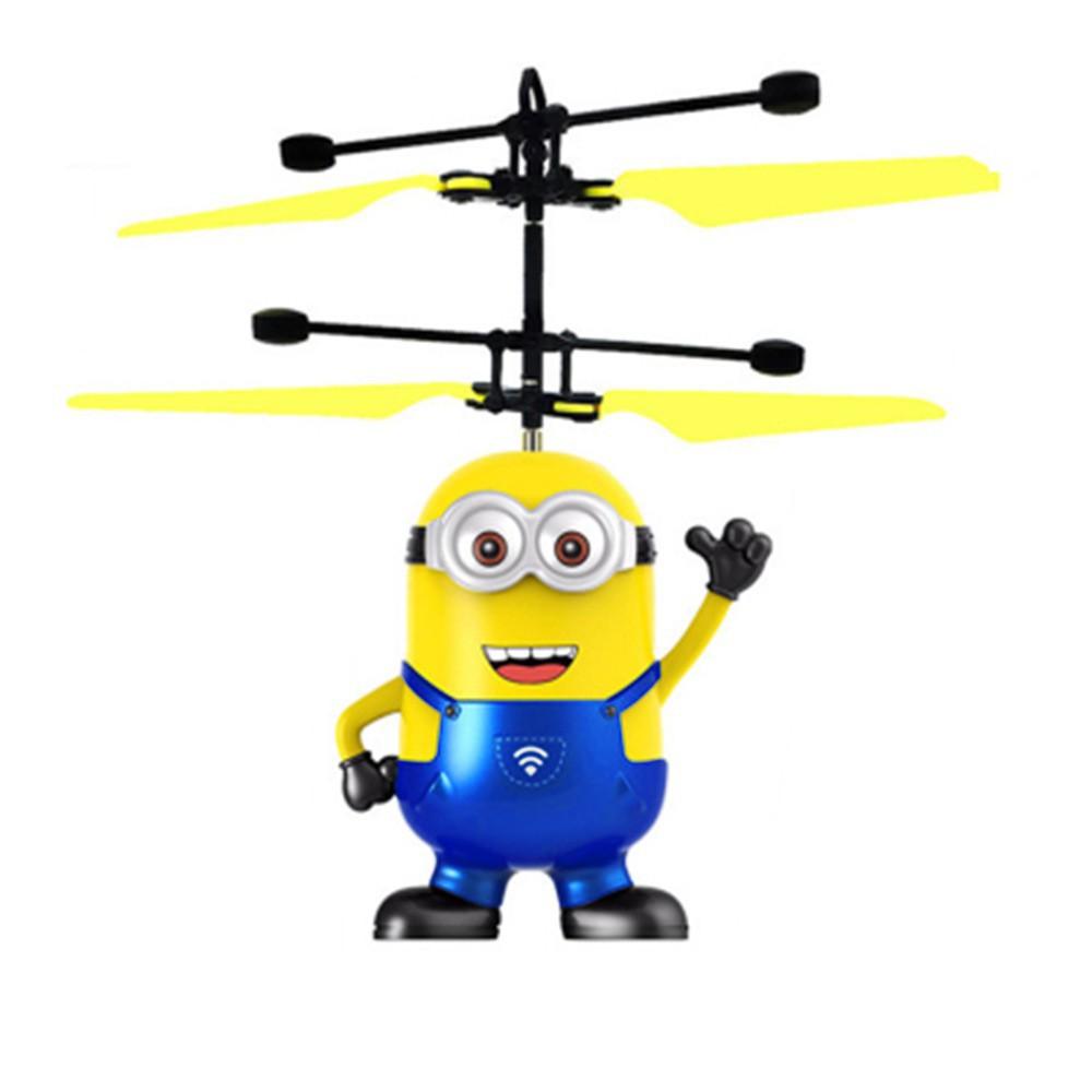 Mainan Helicopter Induksi Infrared Dengan Sensor Terbang Untuk Anak