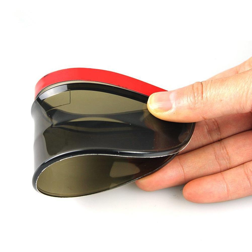 2 pcs//lot Universal Rear View Side Mirror Rain Board Sun Visor Shade Shield for Car /& SUV