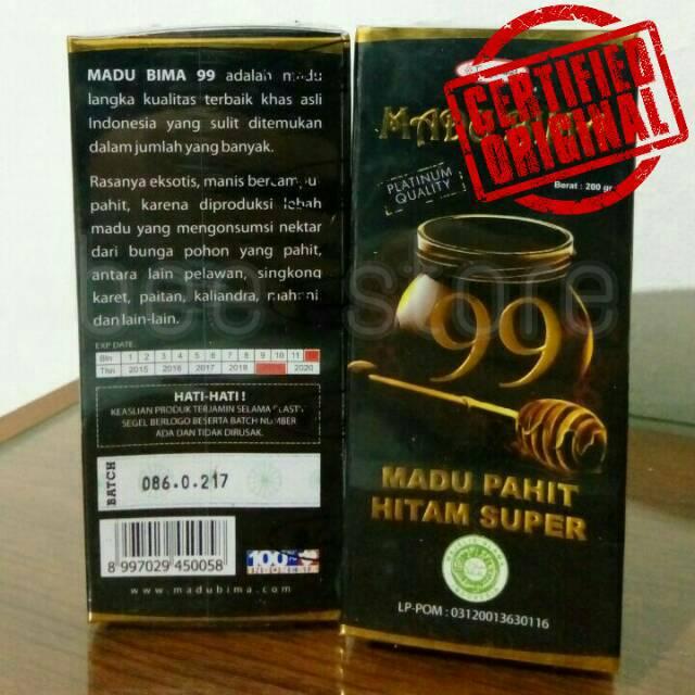 MADU BIMA 99 PAHIT HITAM SUPER