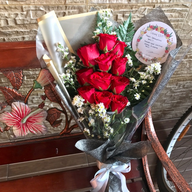 82+ Gambar Rangkaian Bunga Mawar Merah HD