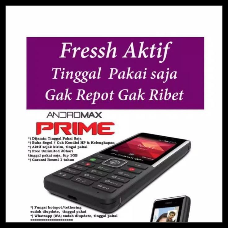 Hp Handphone Keypad Bisa Whatsapp Wa Smartfren Andromax Prime 4G Lte
