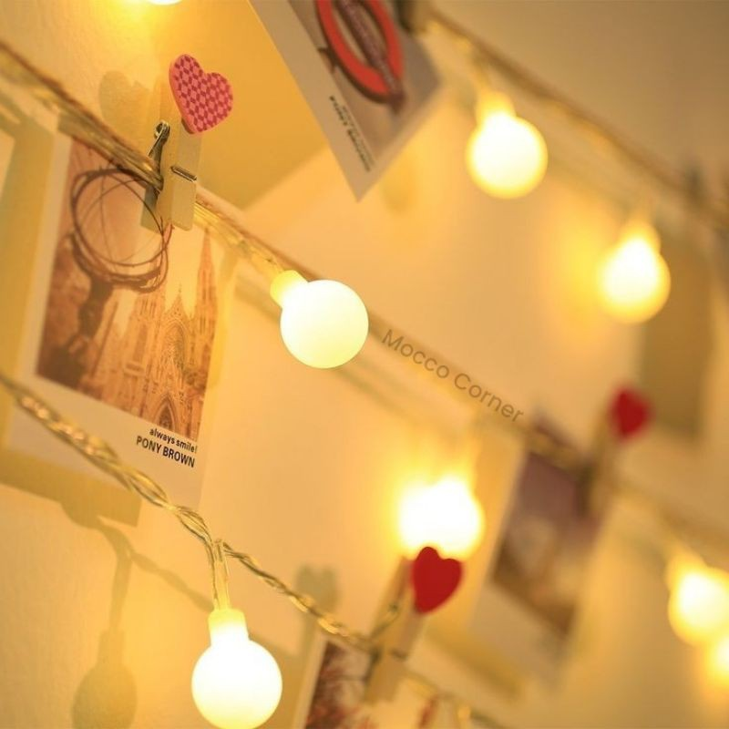 Lampu Tumblr Marble String Light 20 Led Baterai Lampu Hias Pajangan Lampu Kamar Aesthetic Shopee Indonesia